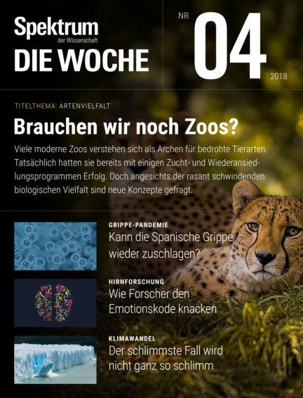 Spektrum - Die Woche January 25, 2018 00:00