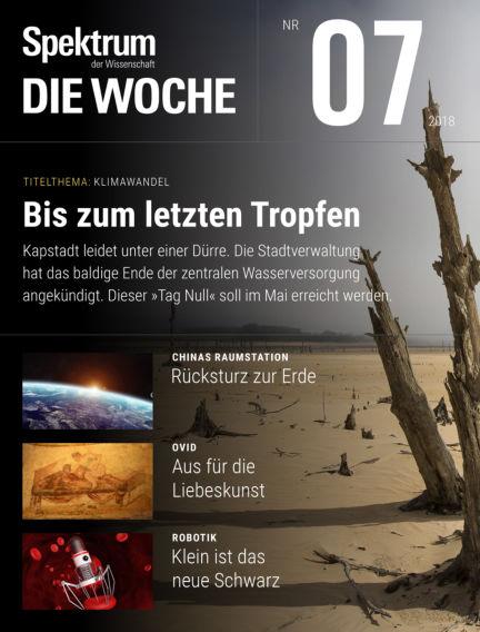 Spektrum - Die Woche February 15, 2018 00:00