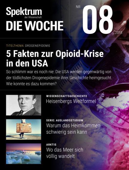 Spektrum - Die Woche February 22, 2018 00:00