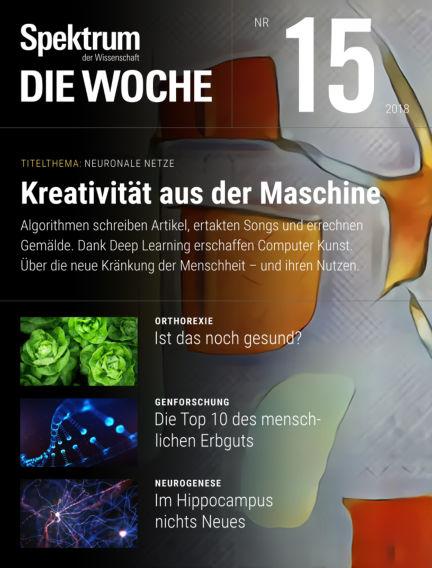 Spektrum - Die Woche April 12, 2018 00:00