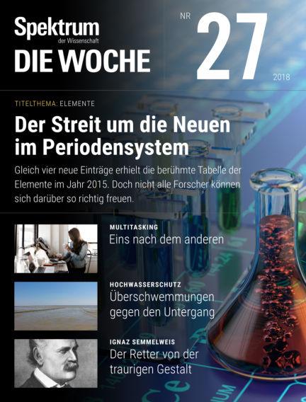 Spektrum - Die Woche July 05, 2018 00:00