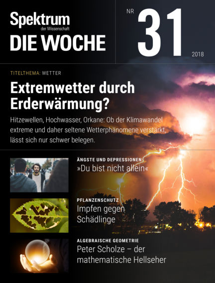 Spektrum - Die Woche August 02, 2018 00:00