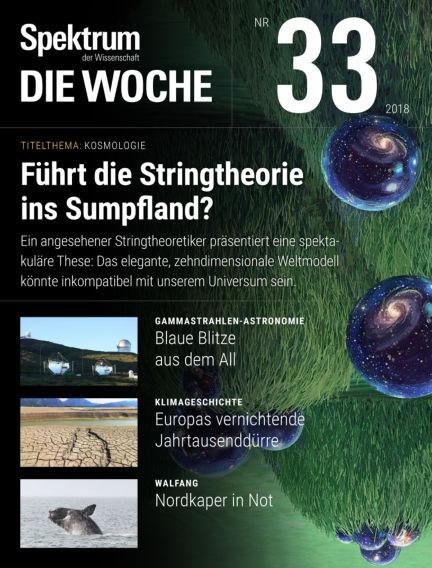 Spektrum - Die Woche August 16, 2018 00:00