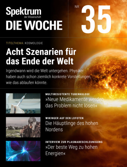 Spektrum - Die Woche August 30, 2018 00:00