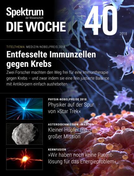 Spektrum - Die Woche October 04, 2018 00:00
