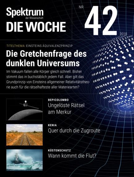 Spektrum - Die Woche October 18, 2018 00:00