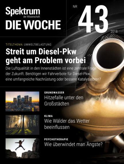 Spektrum - Die Woche October 26, 2018 00:00