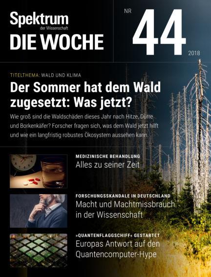Spektrum - Die Woche November 01, 2018 00:00
