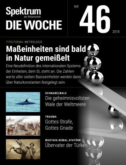Spektrum - Die Woche November 15, 2018 00:00