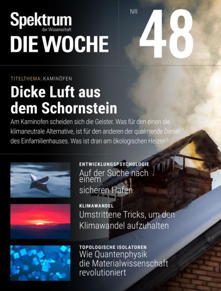 Spektrum - Die Woche November 29, 2018 00:00
