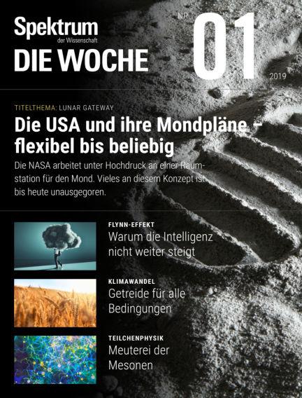 Spektrum - Die Woche January 03, 2019 00:00