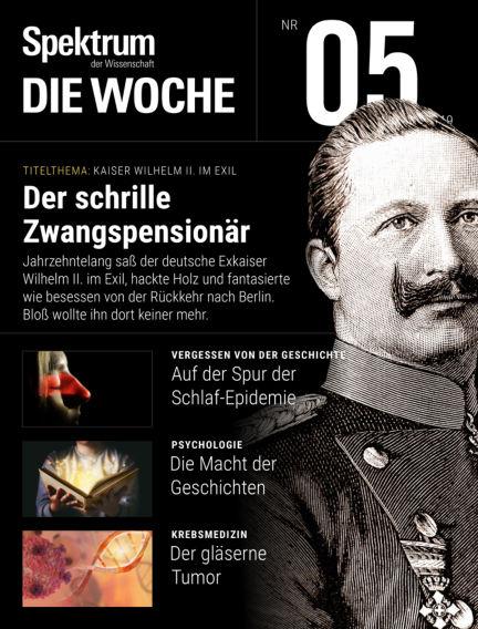 Spektrum - Die Woche January 31, 2019 00:00