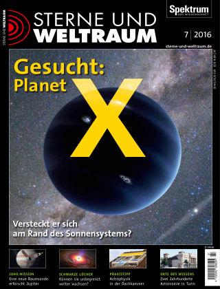 Spektrum - Sterne und Weltraum 07 2016