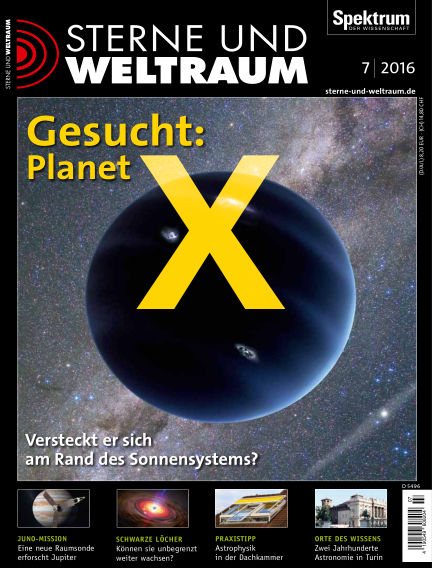Spektrum - Sterne und Weltraum June 17, 2016 00:00