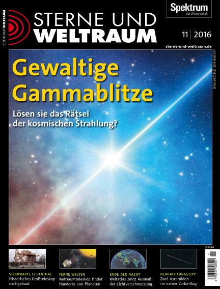 Spektrum - Sterne und Weltraum October 24, 2016 00:00
