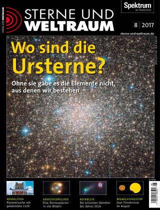 Spektrum - Sterne und Weltraum 8 2017