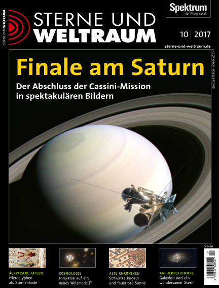 Spektrum - Sterne und Weltraum September 15, 2017 00:00