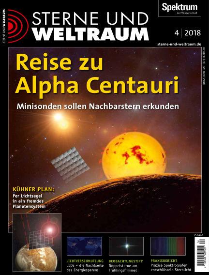 Spektrum - Sterne und Weltraum March 16, 2018 00:00