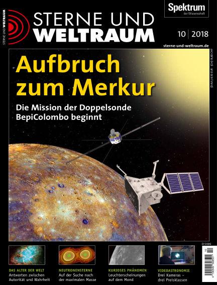 Spektrum - Sterne und Weltraum September 14, 2018 00:00