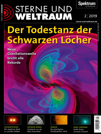 Spektrum - Sterne und Weltraum January 18, 2019 00:00