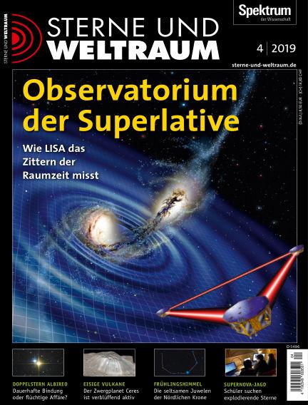 Spektrum - Sterne und Weltraum March 15, 2019 00:00