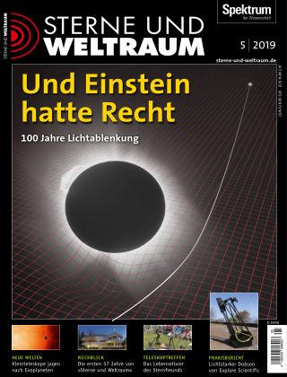 Spektrum - Sterne und Weltraum 5 2019