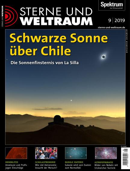 Spektrum - Sterne und Weltraum August 09, 2019 00:00