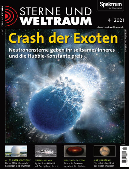 Spektrum - Sterne und Weltraum March 12, 2021 00:00