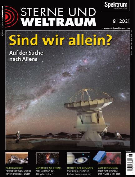 Spektrum - Sterne und Weltraum July 09, 2021 00:00