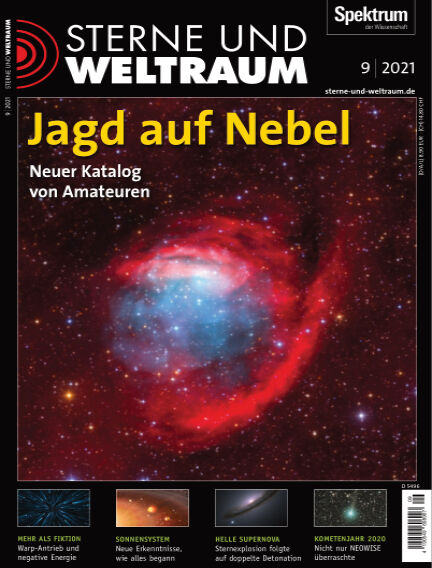 Spektrum - Sterne und Weltraum August 06, 2021 00:00