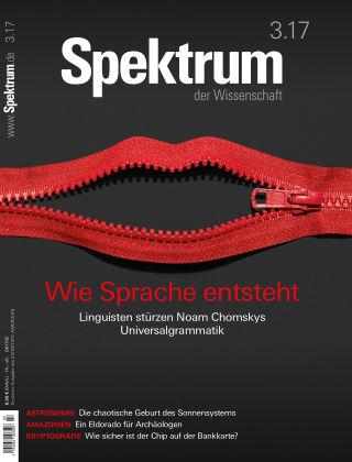 Spektrum der Wissenschaft 3 2017