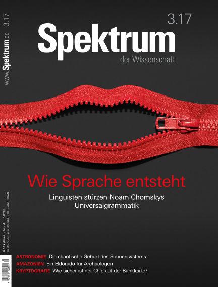 Spektrum der Wissenschaft February 25, 2017 00:00