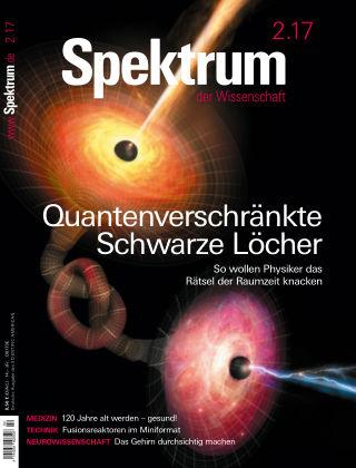 Spektrum der Wissenschaft 2 2017