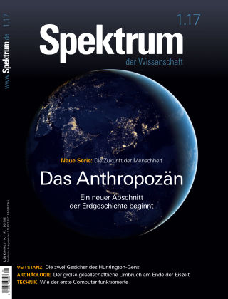 Spektrum der Wissenschaft 1 2017