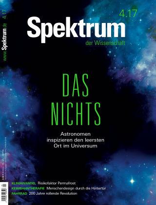 Spektrum der Wissenschaft 04 2017