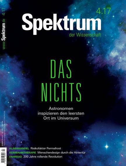 Spektrum der Wissenschaft March 25, 2017 00:00