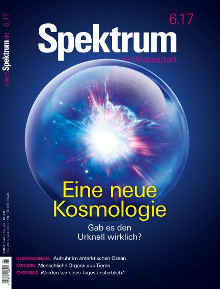 Spektrum der Wissenschaft May 20, 2017 00:00