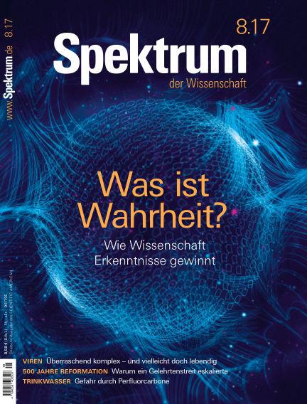Spektrum der Wissenschaft July 22, 2017 00:00