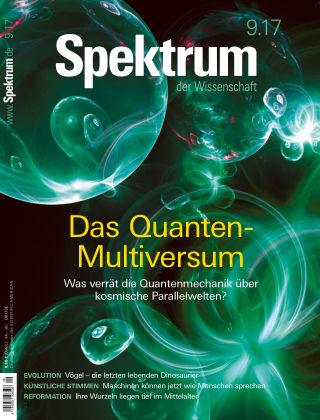 Spektrum der Wissenschaft 9 2017