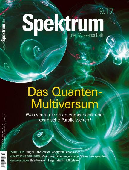 Spektrum der Wissenschaft August 19, 2017 00:00