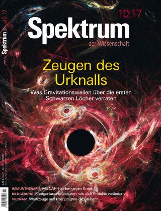 Spektrum der Wissenschaft 10 2017