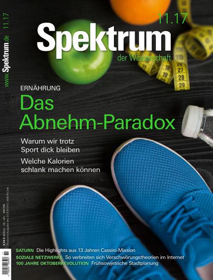 Spektrum der Wissenschaft October 21, 2017 00:00