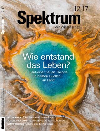 Spektrum der Wissenschaft 12 2017