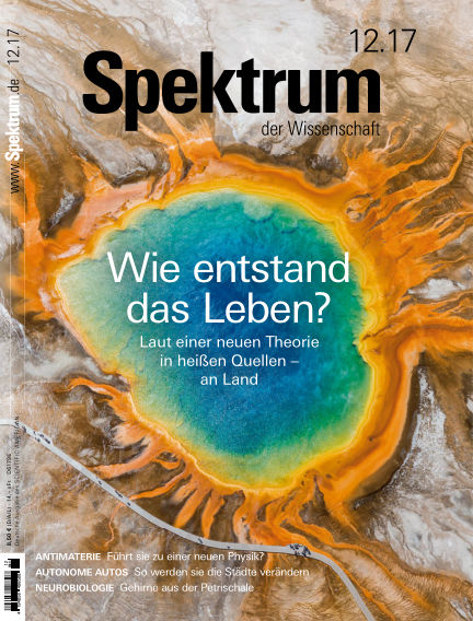 Spektrum der Wissenschaft November 18, 2017 00:00