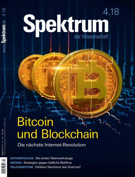 Spektrum der Wissenschaft March 24, 2018 00:00