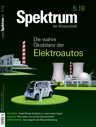 Spektrum der Wissenschaft 5 2018