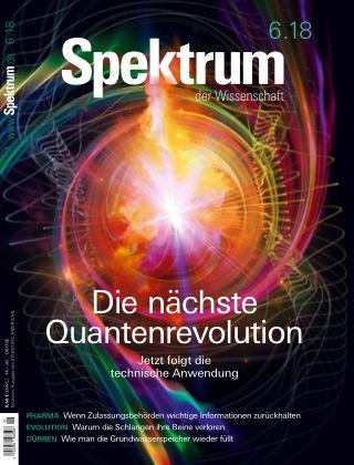 Spektrum der Wissenschaft 6 2018