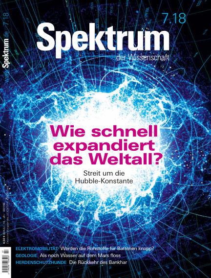 Spektrum der Wissenschaft June 23, 2018 00:00