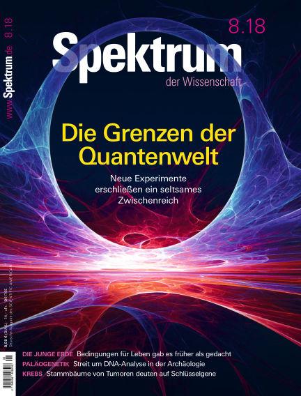 Spektrum der Wissenschaft July 21, 2018 00:00