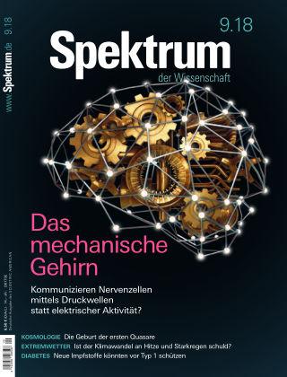 Spektrum der Wissenschaft 9 2018